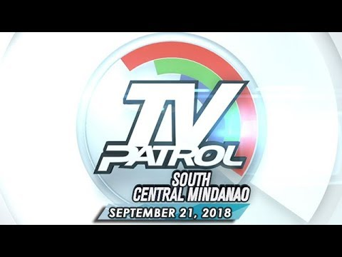[ABS-CBN]  TV Patrol South Central Mindanao – September 21, 2018