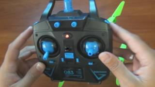 Инструкция управления квадрокоптером JJRC H98