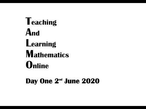 Teaching and Learning Mathematics Online