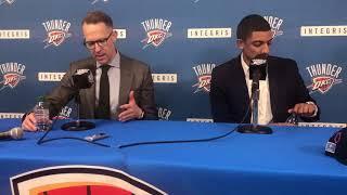 Thunder - Full draft night press conference