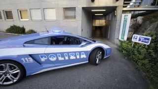 preview picture of video 'Lamborghini Gallardo Polizia di Stato in Hotel Stans-Süd'