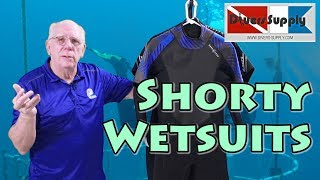 What is a Shorty Wetsuit *** Why wear a Shorty Wetsuit