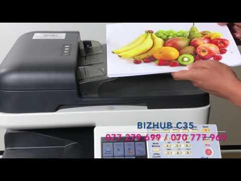 Machin Printer Model : BIZHUB C35