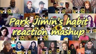 [BTS] Park Jimin's Habits|reaction Mashup