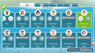 The sims freeplay- call a teen to the community center