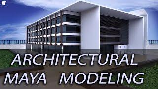 Architectural Autodesk Maya Modeling   Building Exterior   Keyshot Rendering   Tutorial