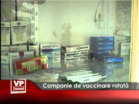 Campanie de vaccinare ratată