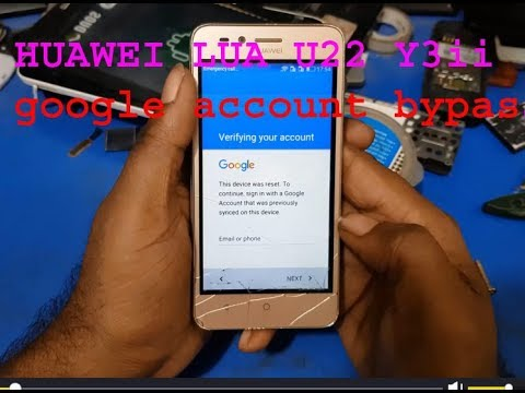 Huawei CAM-L21) Google Account Bypass Tutorial 2018 (If