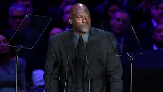 Michael Jordan Speaks at A Celebration of Life for Kobe and Gianna Bryant