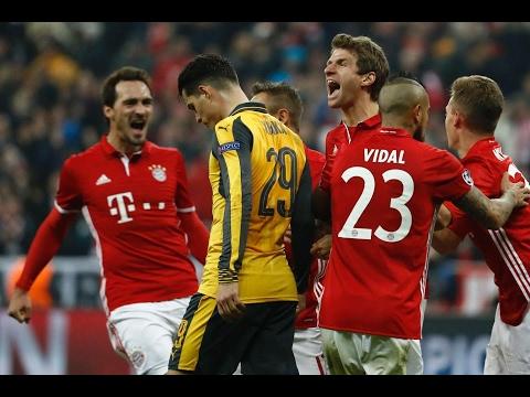 Bayern Munich 5 Arsenal 1 | Player Ratings
