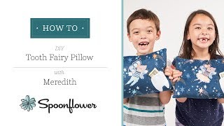 The Tooth Fairy Loves This Pillow (and Your Kiddos Will Too!) | Spoonflower