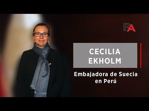 Embajadora de Suecia en Perú, Cecilia Ekholm: Minería 4.0