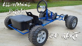 Power Wheels DIY Go Kart | All-wheel Drive