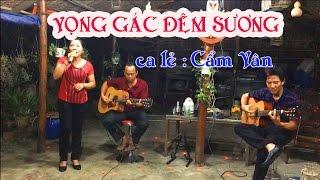 Vọng Gác Đêm Sương / guitar Lâm Thông / ca lẻ Cẩm Vân / nhạc sến hay / nhạc xưa thu âm theo 1975