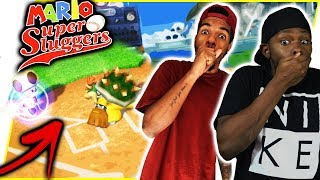THIS CAN'T BE LEGAL! THIS ISN'T FOOTBALL!! - Mario Sluggers Gameplay   #ThrowbackThursday