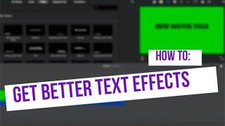 glitch overlay effect imovie - TH-Clip