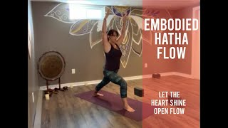 Embodied Hatha ~ Let the Heart Shine Open (Oct 3)