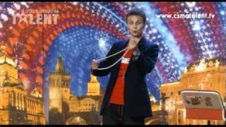 Richard Nedvěd   Česko Slovensko má talent 2010