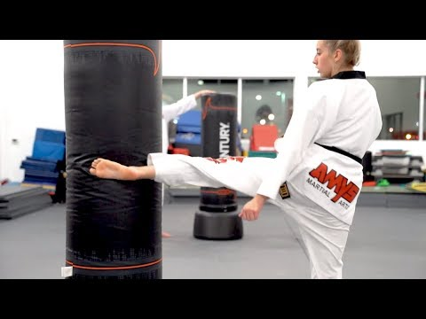 My School's Black Belt Testing 2019   AMYS Taekwondo - YouTube