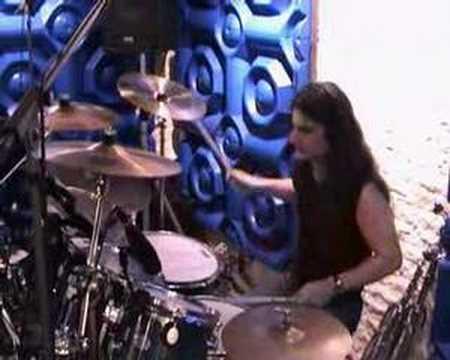 Stergios Kourou - drum solo (stick tricks arrangement)