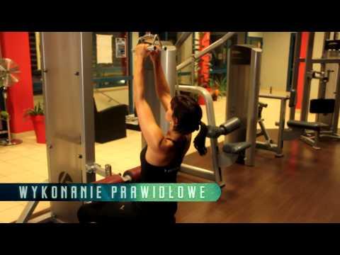 Bóle mięśni pleców między łopatkami i dolnej części pleców