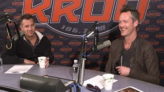 Nick Hexum and P-Nut at KROQ for 311 Day Interview