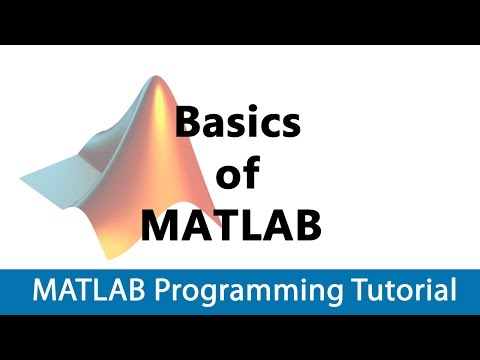 MATLAB Programming Tutorial #01 Basics of Matlab
