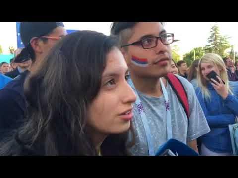"""Болельщица из Эквадора: """"Здесь очень любят футбол!"""""""