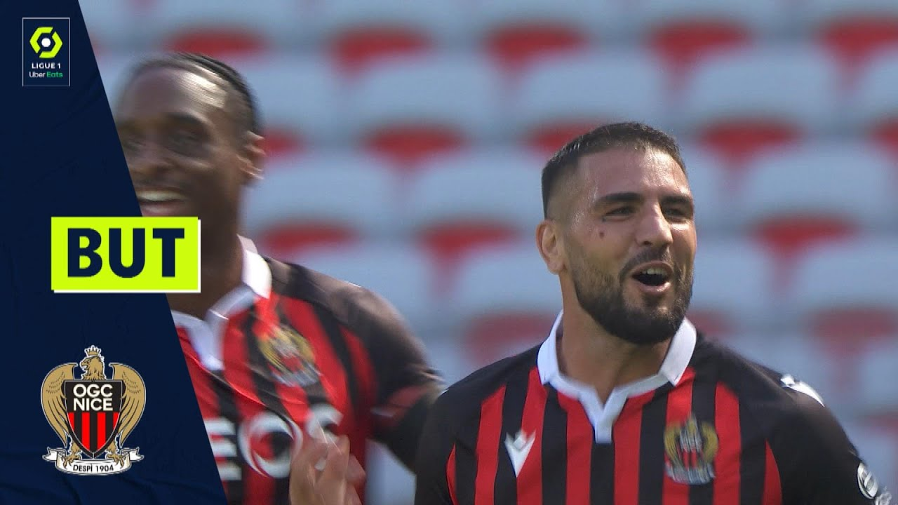 But Andy DELORT (51' - OGCN) OGC NICE - AS MONACO (2-2) 21/22