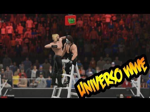 WWE 2K15 - Sting el vigilante enfrenta a Seth Rollins en una lucha de TLC