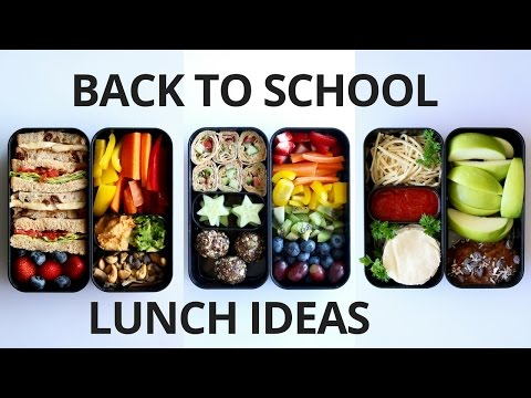 Video SCHOOL LUNCH IDEAS FOR KIDS (VEGAN)