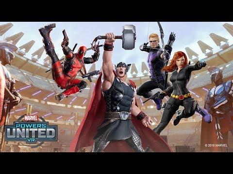 MARVEL Powers United VR  |  Hawkeye + Black Widow: Team Gameplay  |  Oculus Rift thumbnail