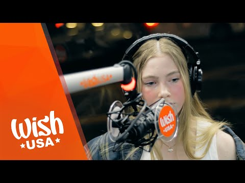 "AnnelieElina performs ""Recover"" LIVE on the Wish USA Bus"