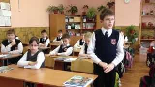 """Открытый урок в школе 1176 в 4 """"П"""" Классе"""
