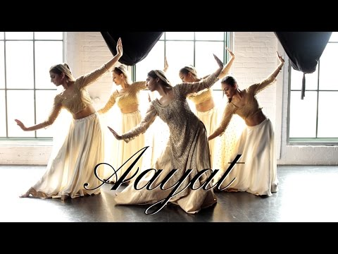 Aayat Dance | Bajirao Mastani | Indian Classical (Kathak) Contemporary Fusion Choreography (видео)