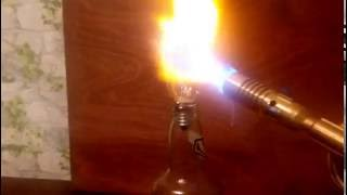 Газовая горелка VS лампочка свечка