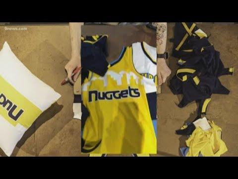 Portland company upcycles hundreds of Nuggets jerseys