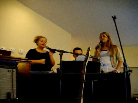 Katie & Brandy singing @ Wind of Pentecost Apostolic Church