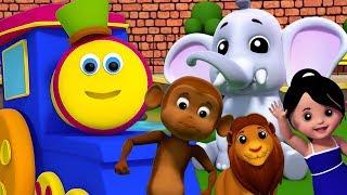 боб поезд | собирается в зоопарк | Bob Going To Zoo | Bob The Train Russia | мультики для детей