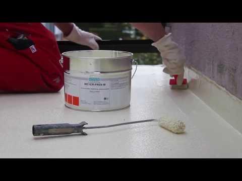 Meyer Dichtstoffe Schulungsvideo Balkon Abdichten