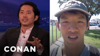 Steven Yeun Not All Asians Look Alike   CONAN On TBS