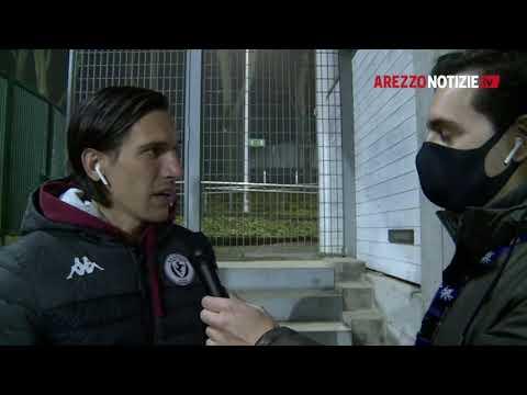 Imolese-Arezzo 0-2, intervista a Niccolò Belloni