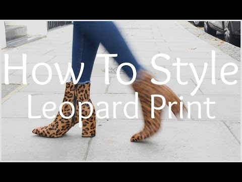 Download How To Style Leopard Print | Peexo HD Mp4 3GP Video and MP3