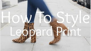 How To Style Leopard Print   Peexo
