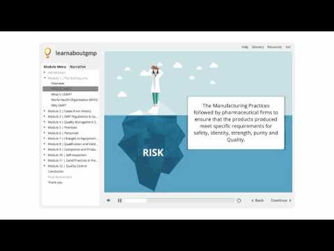 Good Manufacturing Practices (cGMP) Online Course - YouTube
