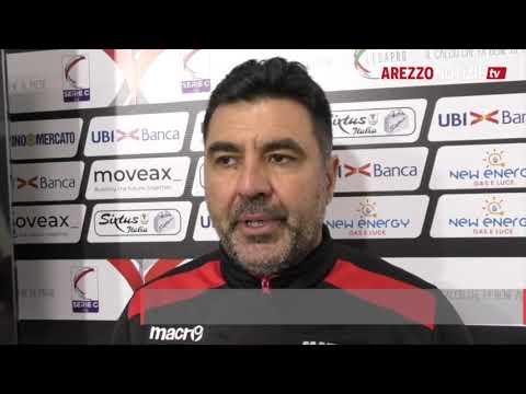 Arezzo-Matelica 2-0, intervista a mr Colavitto