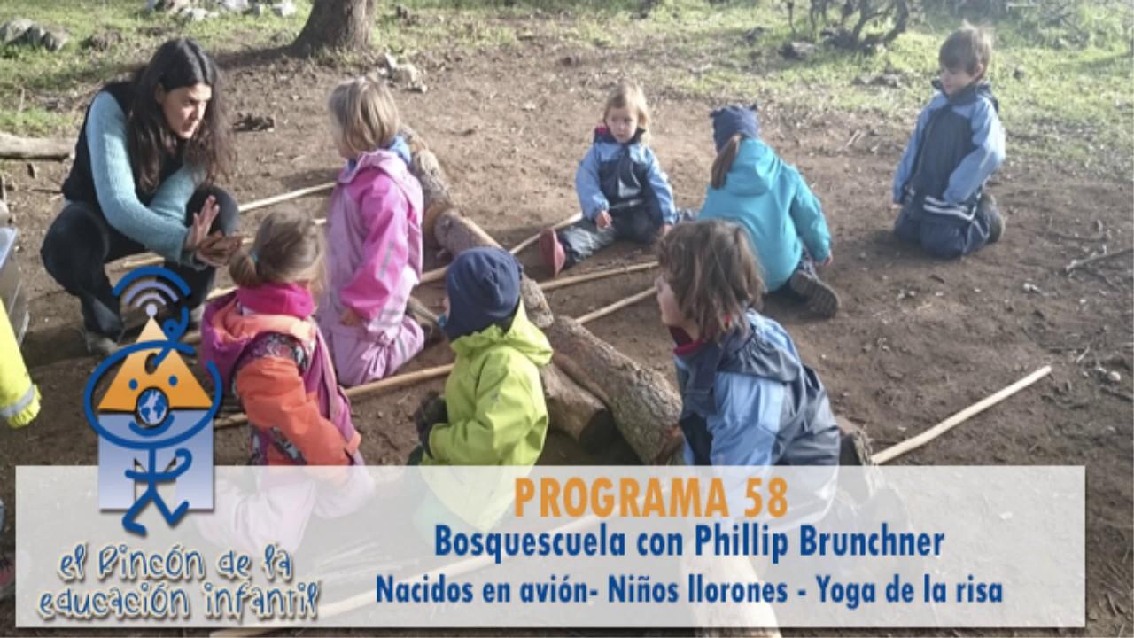 Bosquescuela - Niños llorones - Yoga de la risa (p58)