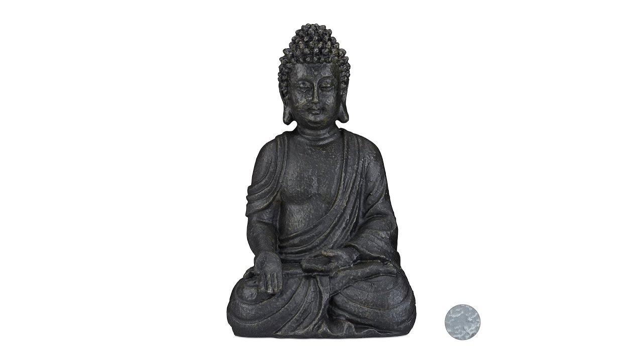 Video von: Buddha Figur sitzend 40 cm