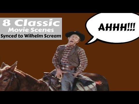 8 Classic Movies Scenes Synced to the Wilhelm Scream