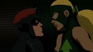 Young Justice Season 1 Kid Flash & <b>Artemis</b> All Moment